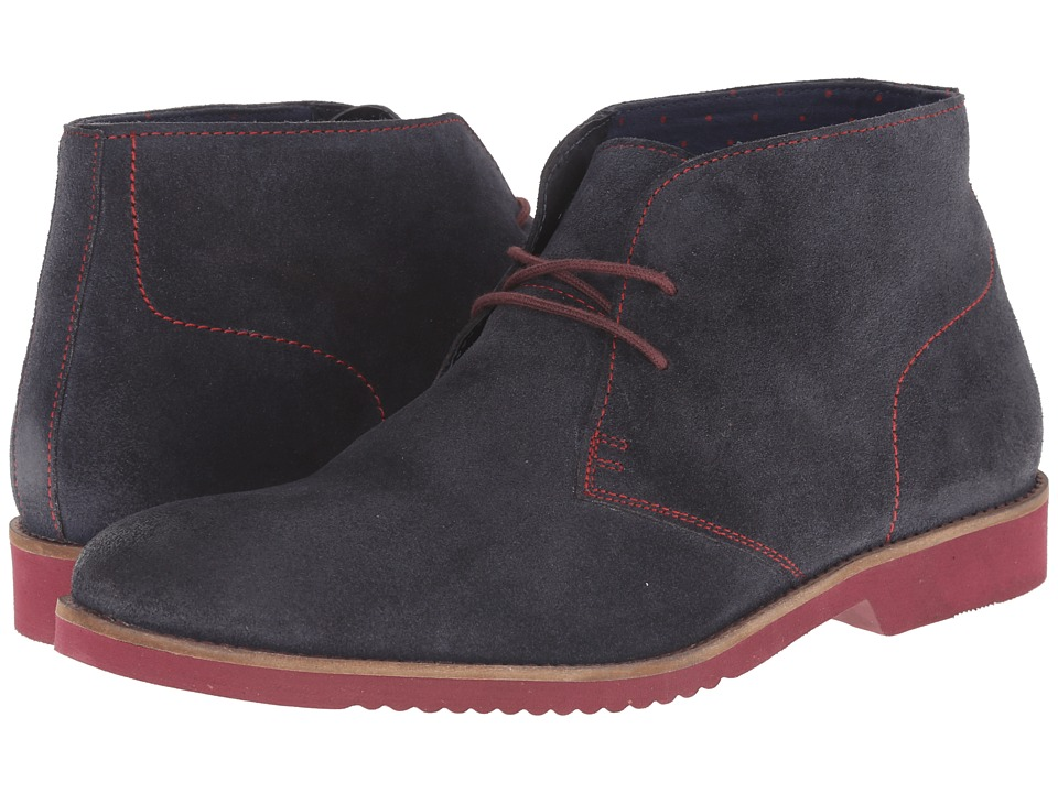Lotus - Roland (Navy Greasy Suede) Men's Lace-up Boots