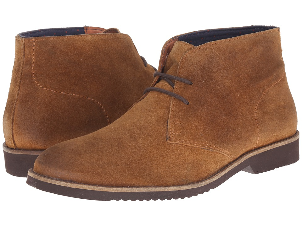 Lotus - Roland (Stone Greasy Suede) Men's Lace-up Boots