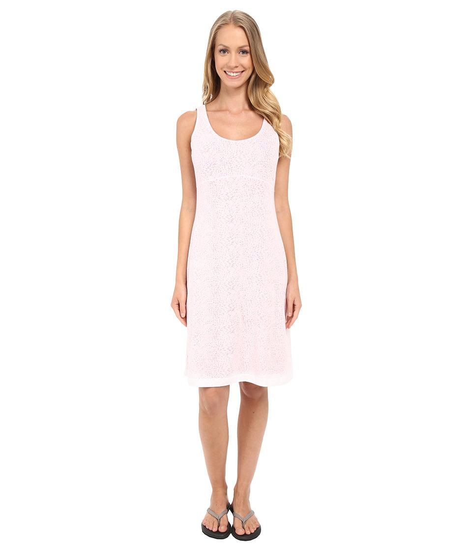 Columbia - See Through You Burnout Dress (White Burnout) Women's Dress