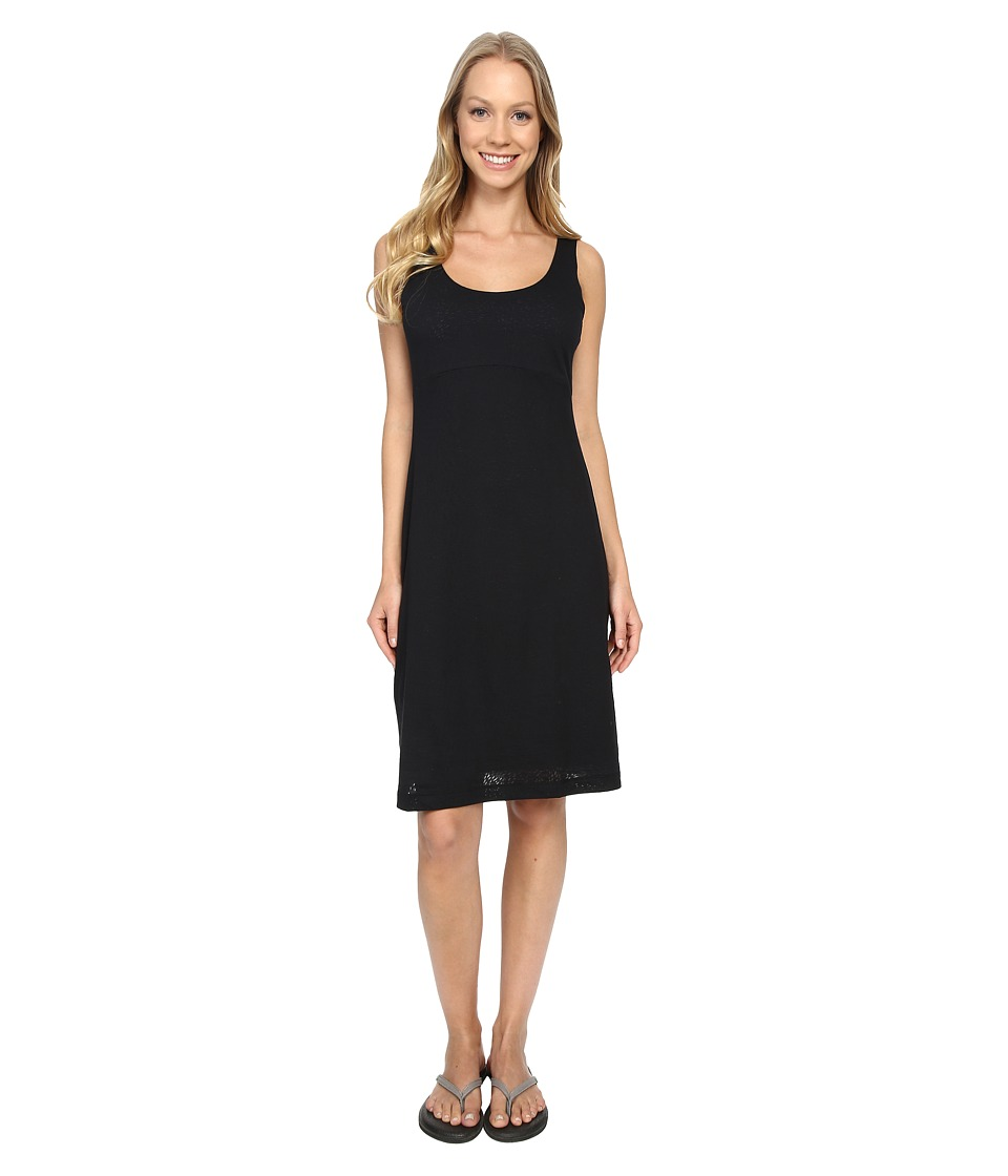 Columbia - See Through You Burnout Dress (Black Burnout) Women's Dress