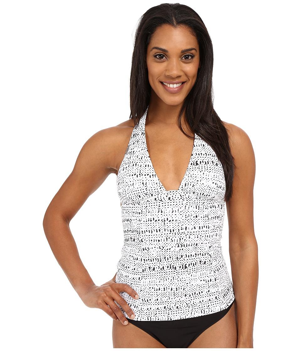 Lole - Jamaica Tankini Top (White Hammock) Women's Swimwear