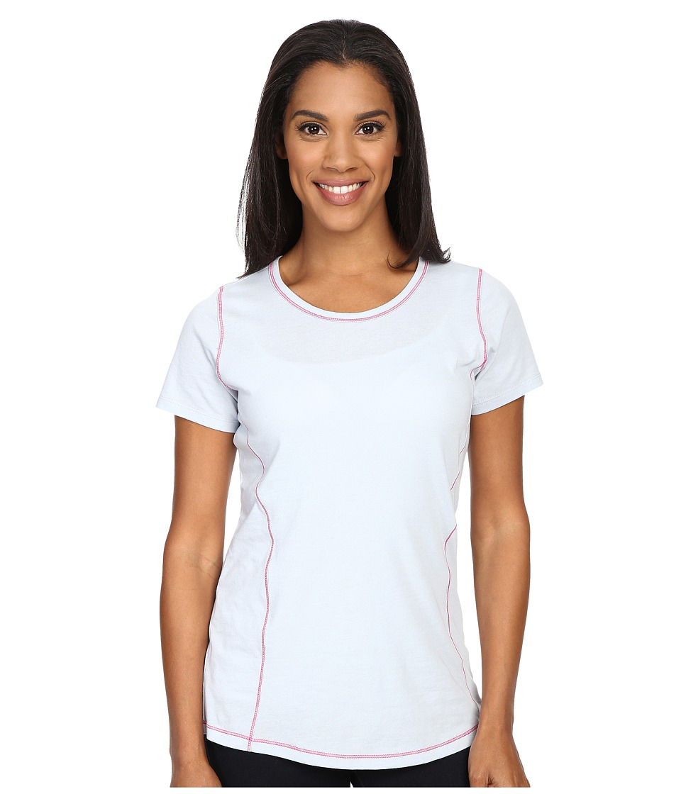 Columbia - Everything She Needs Crew Neck Tee (Cirrus Grey Heather) Women's Short Sleeve Pullover