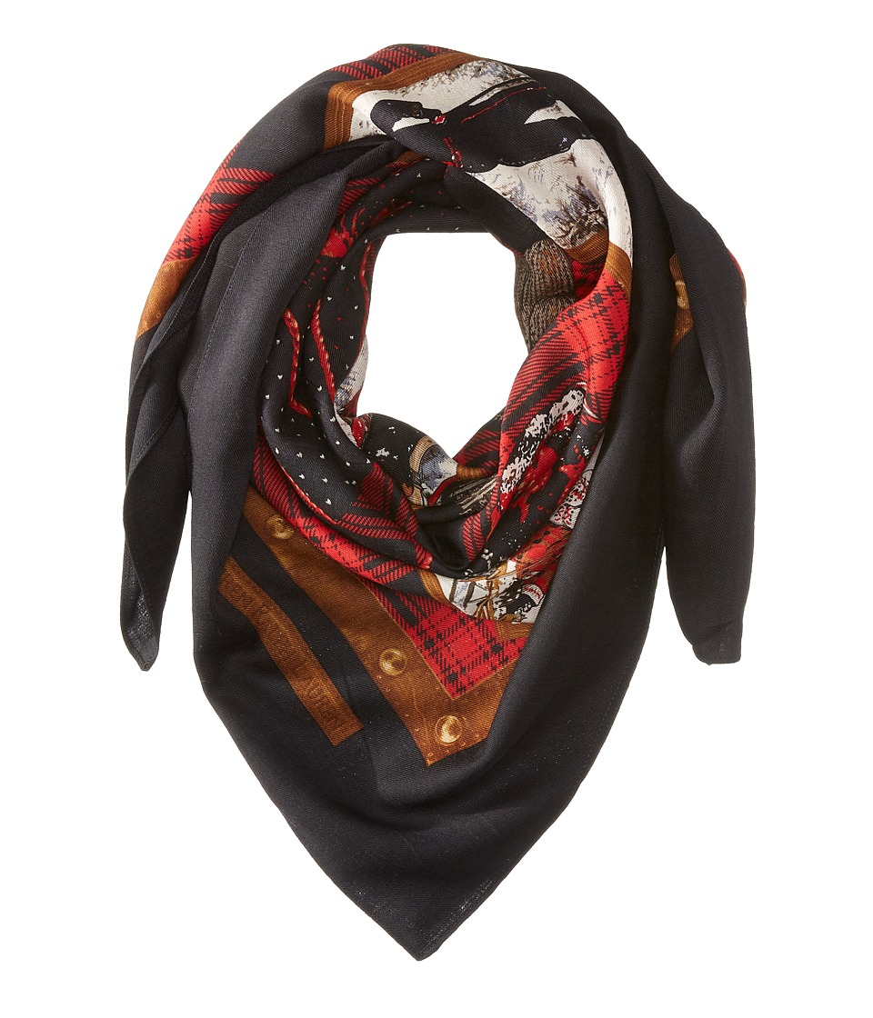 LAUREN by Ralph Lauren - Holly Scarf (Madison Red) Scarves