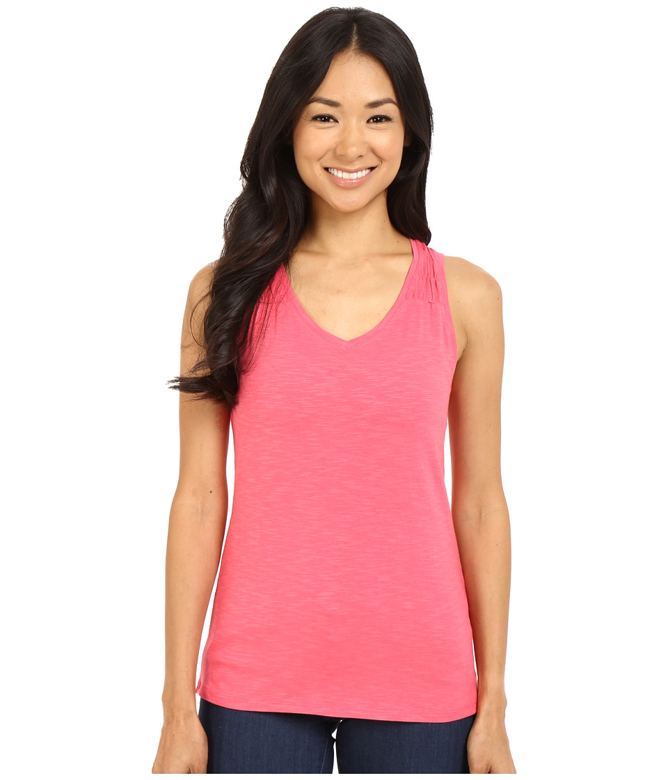 Columbia - Rocky Ridge II Tank Top (Bright Geranium) Women's Sleeveless