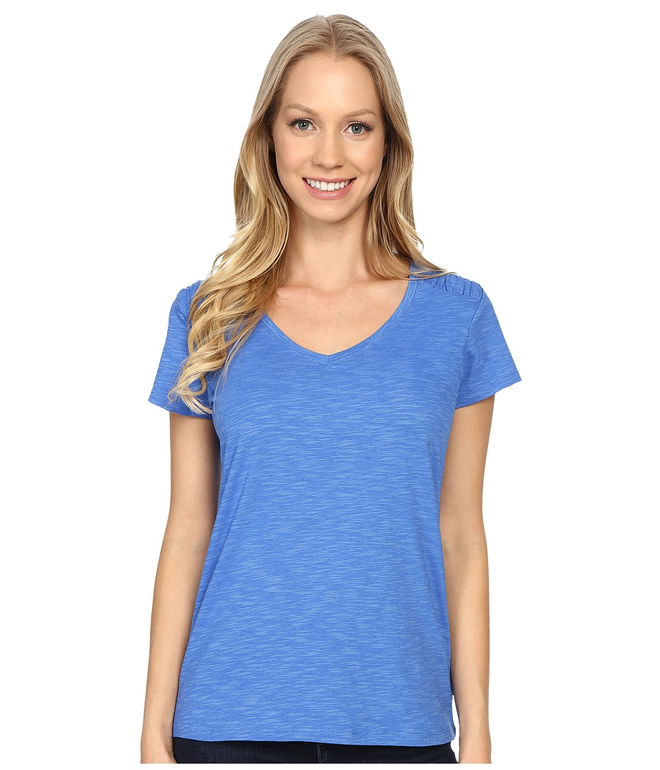 Columbia Rocky Ridge IV Tee (Stormy Blue) Women