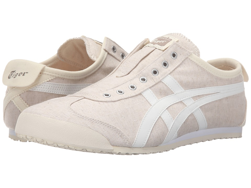 Onitsuka Tiger by Asics - Mexico 66(r) Slip-On (Off-White/White) Shoes