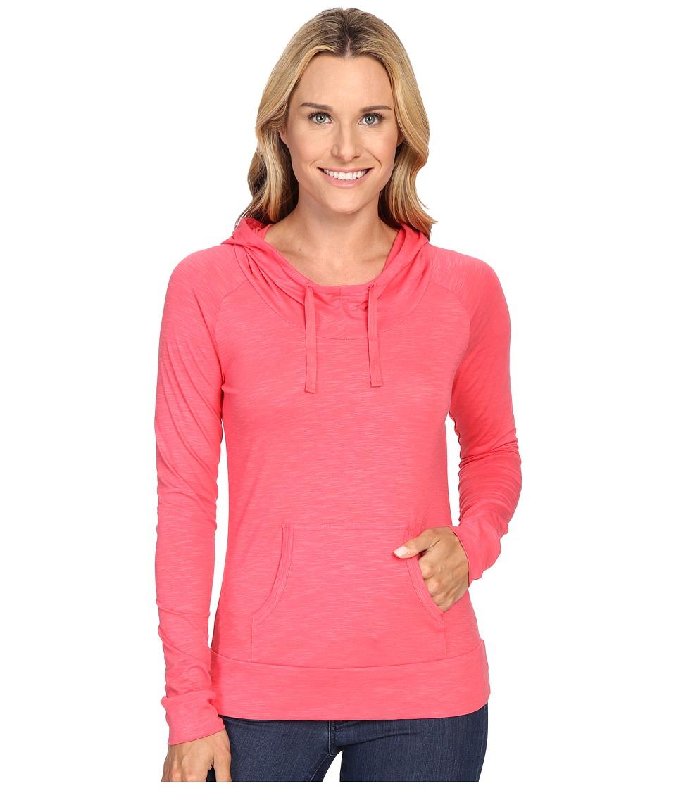 Columbia - Rocky Ridge III Hoodie (Bright Geranium) Women's Sweatshirt