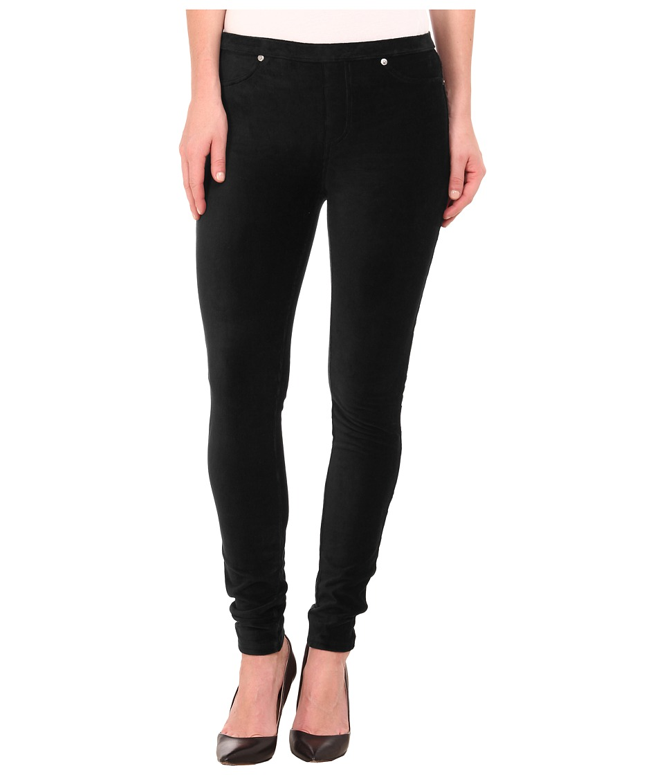 MICHAEL Michael Kors - Stretch Cord Leggings (Black) Women's Casual Pants