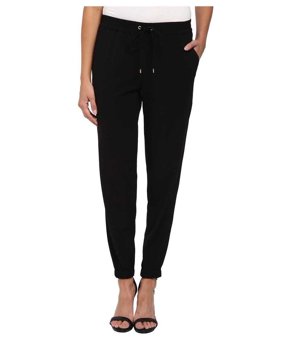 MICHAEL Michael Kors - Track Pants (Black) Women's Casual Pants