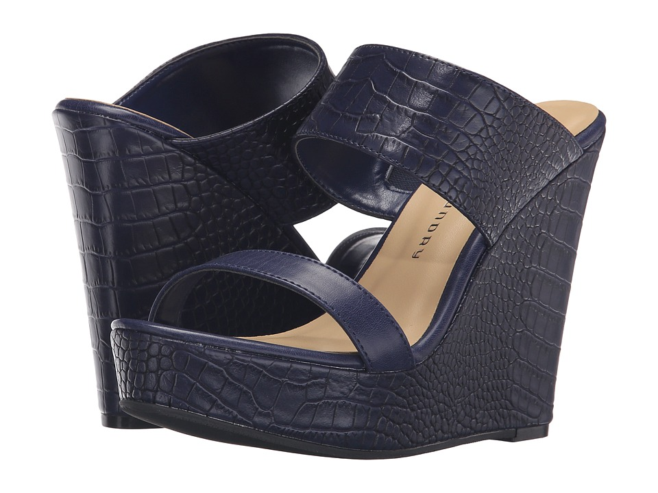 Chinese Laundry - Carson (Navy) Women's Dress Sandals