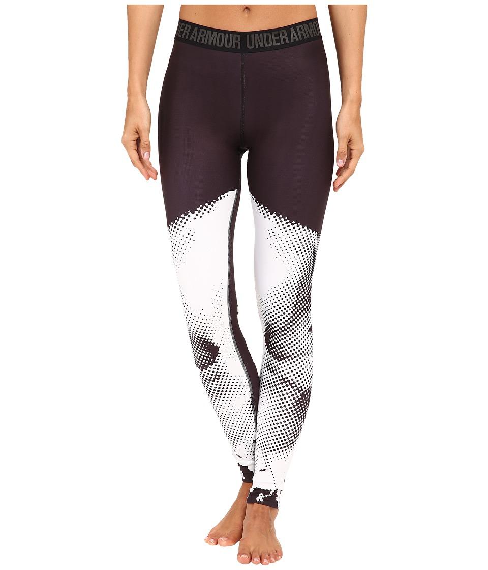 Under Armour - ROGA Engineered Leggings (Black) Women's Casual Pants