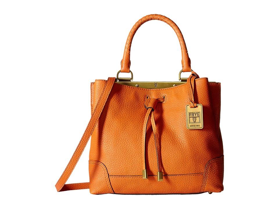 Frye - Fay Small Drawstring (Orange Goat Leather) Drawstring Handbags