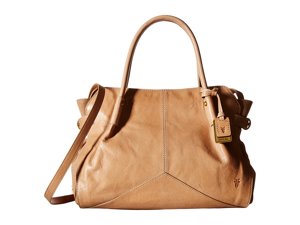 Frye - Sophie Satchel (Natural Veg Calf Leather) Satchel Handbags