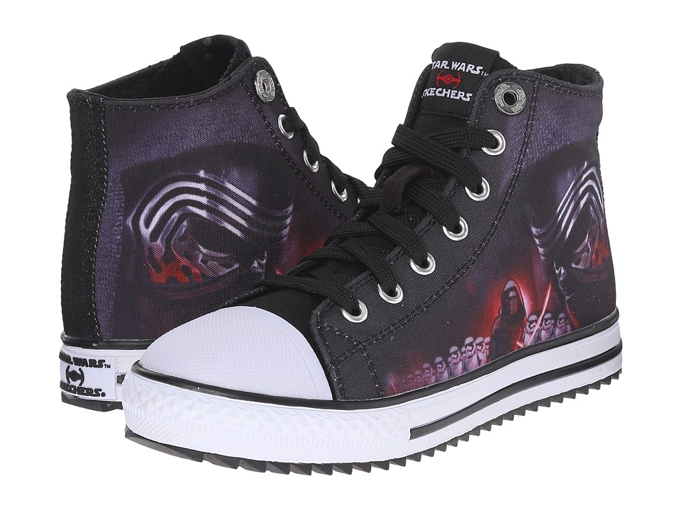SKECHERS KIDS - Star Wars: Jagged - Alioth (Little Kid/Big Kid) (Black/Red) Boy's Shoes