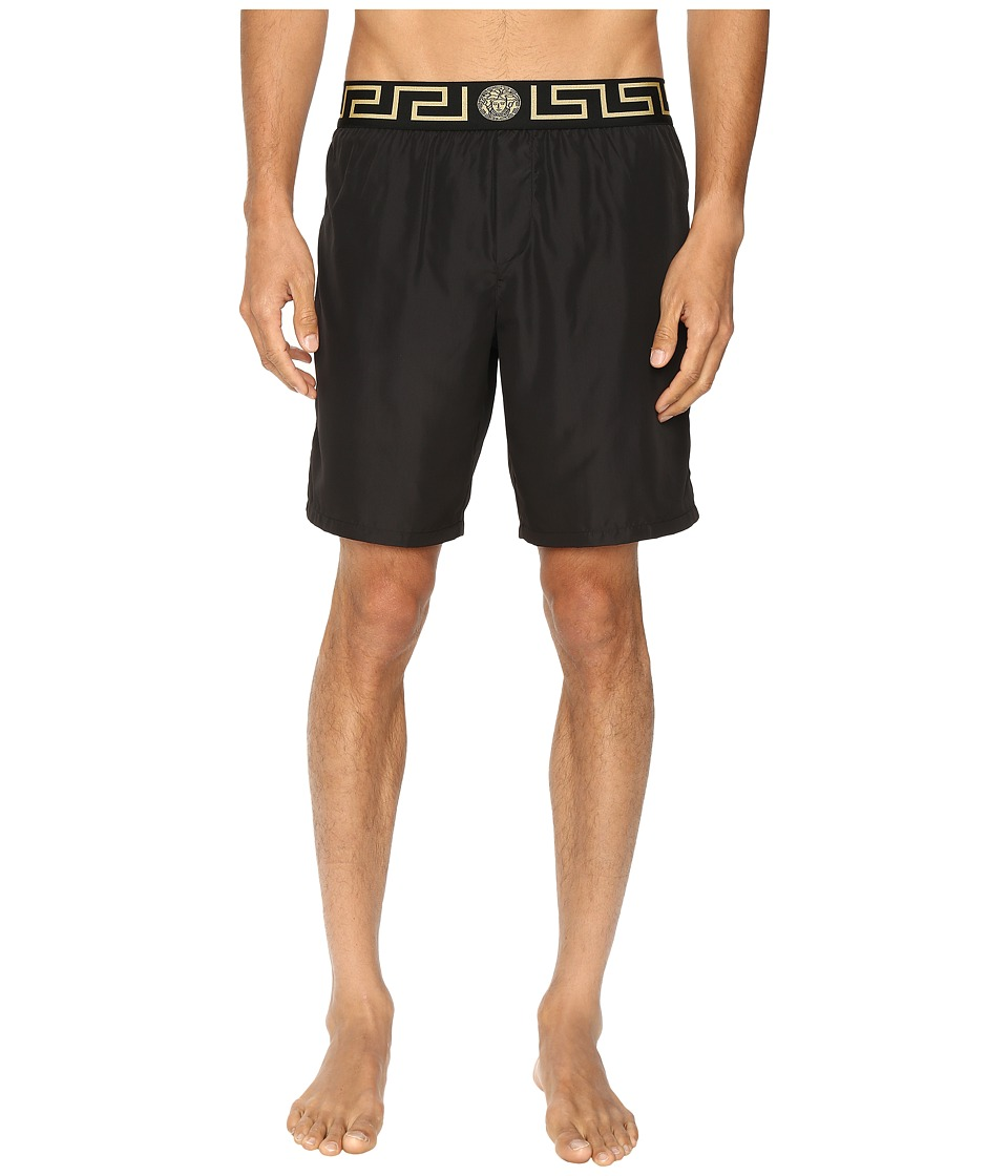 Versace - Iconic Nylon Swim Short (Black 1) Men's Underwear