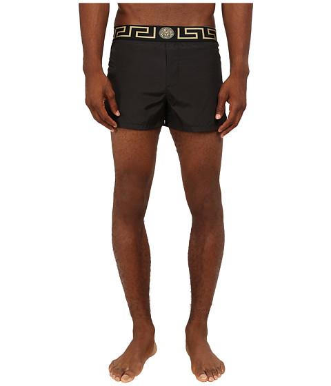Versace - Iconic Nylon Swim Short (Black) Men's Underwear