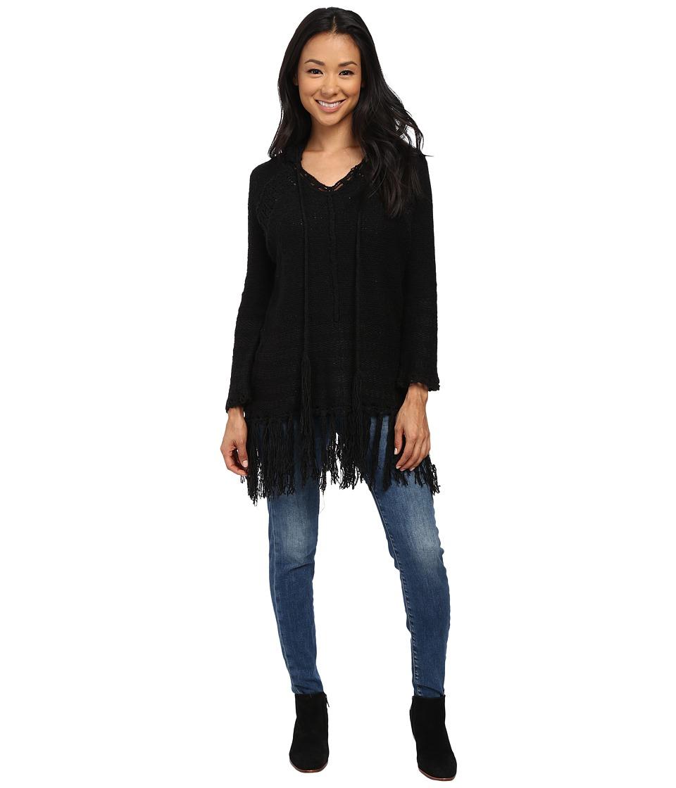 Gabriella Rocha - Jackie Hooded Sweater (Black) Women's Sweater