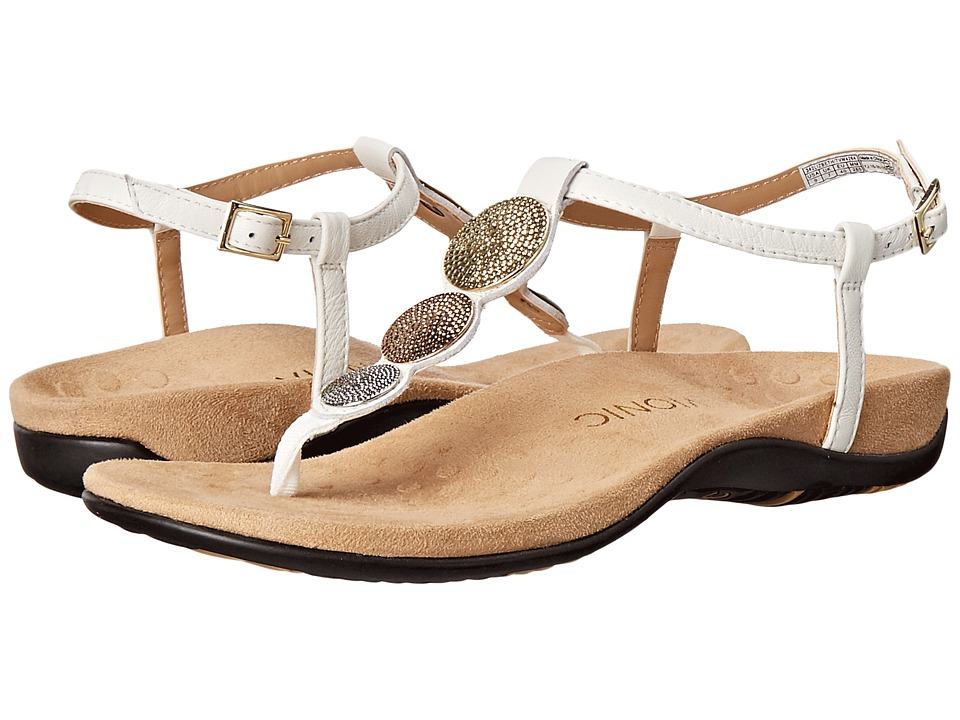 VIONIC - Rest Lizbeth (White Metallic) Women's Sandals