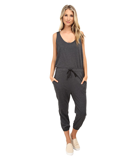 Culture Phit - Ava Jumper (Charcoal) Women's Jumpsuit & Rompers One Piece