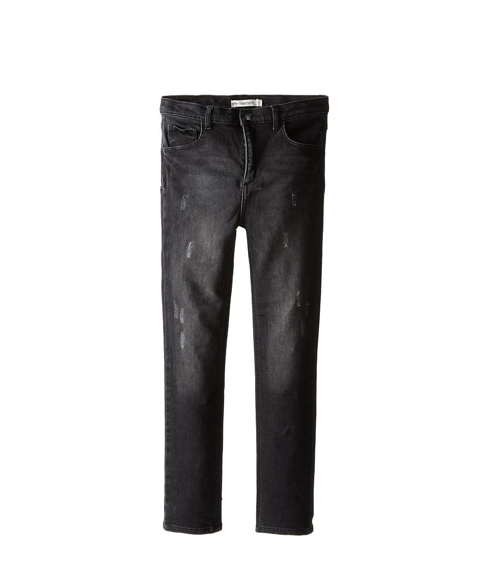 Appaman Kids - Denim Knit Jegging (Toddler/Little Kids/Big Kids) (Black Wash) Girl's Jeans