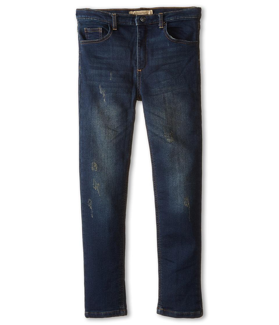 Appaman Kids - Denim Knit Jegging (Toddler/Little Kids/Big Kids) (Dark Wash) Girl's Jeans