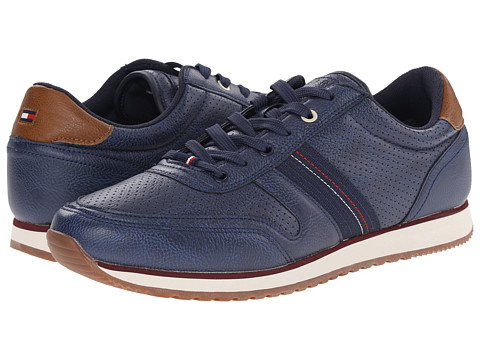 Tommy Hilfiger - Manilow (Navy) Men's Shoes