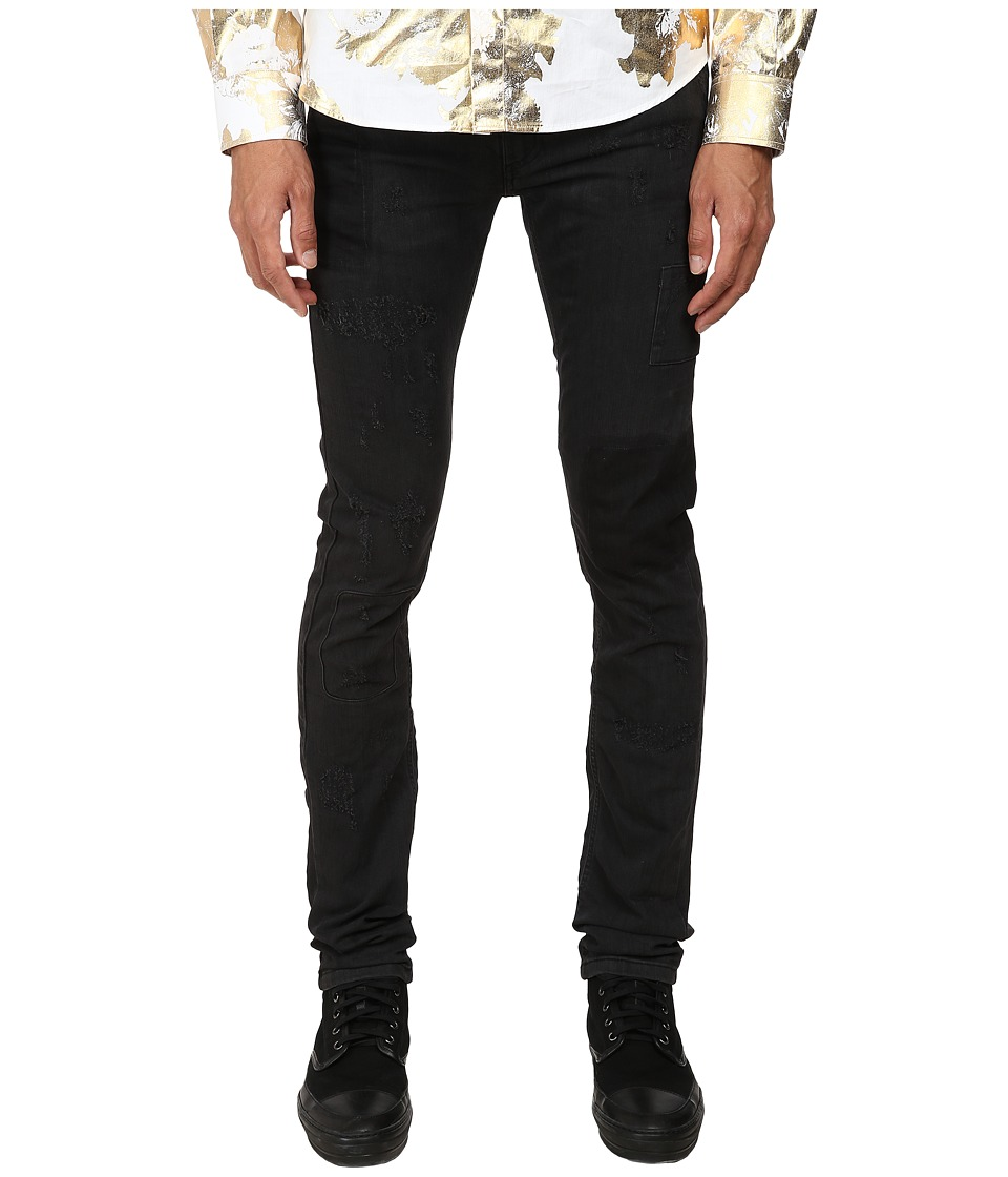 Versace Jeans - Skinny Five-Pocket Denim (Black) Men's Jeans