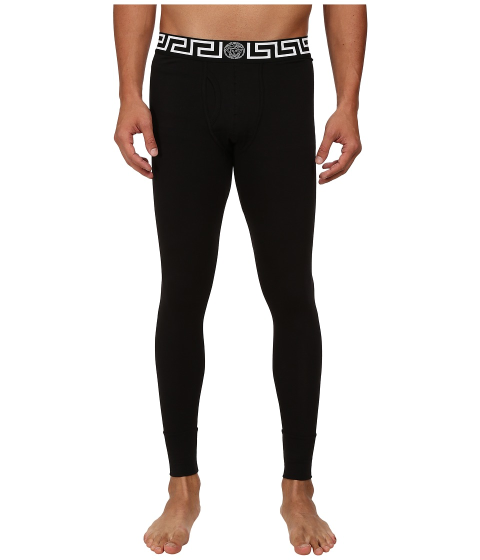 Versace - Long John (Black 1) Men's Pajama