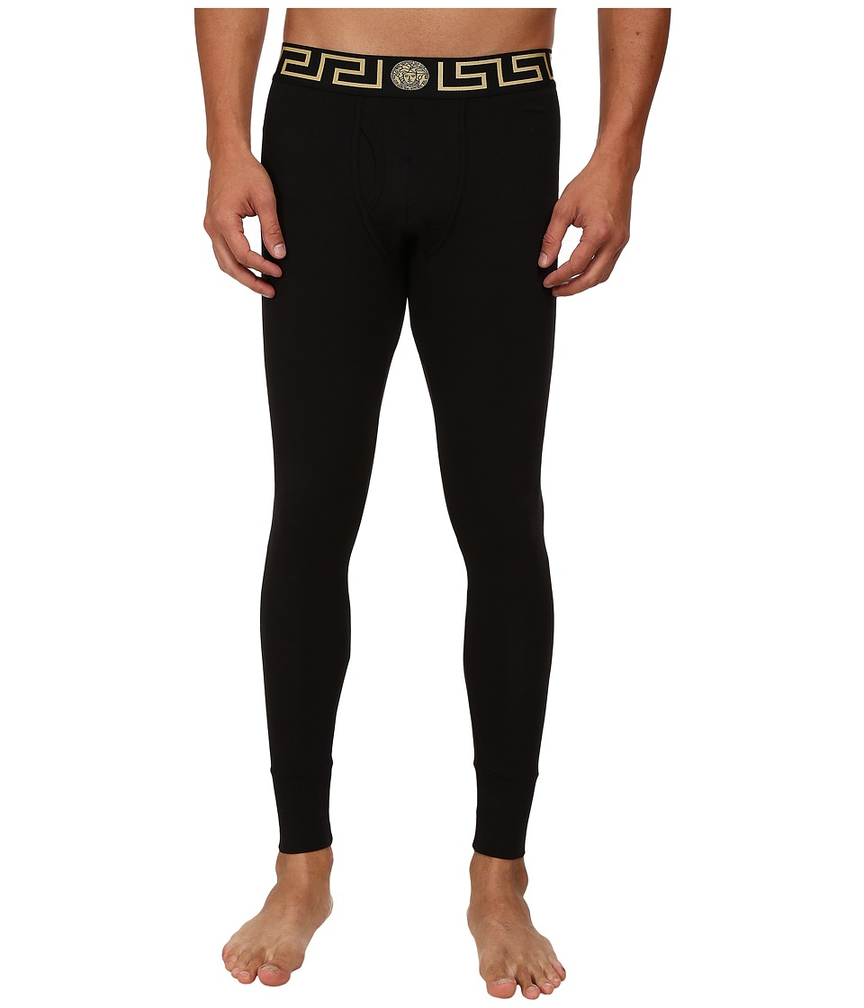Versace - Long John (Black) Men's Pajama