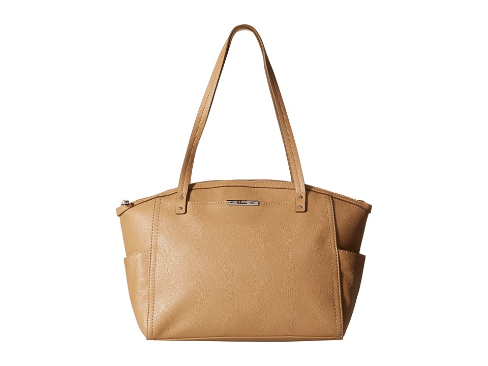 Relic - Caraway Solids Medium Tote (Tan) Tote Handbags