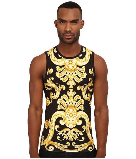 Versace - Baroque Tank (Gold) Men's Sleeveless
