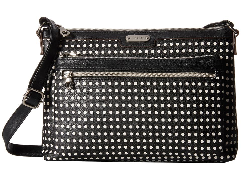 Relic - Evie East West Crossbody (Black Multi) Cross Body Handbags