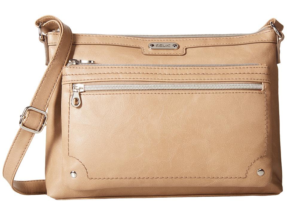 Relic - Evie East West Crossbody (Tan) Cross Body Handbags