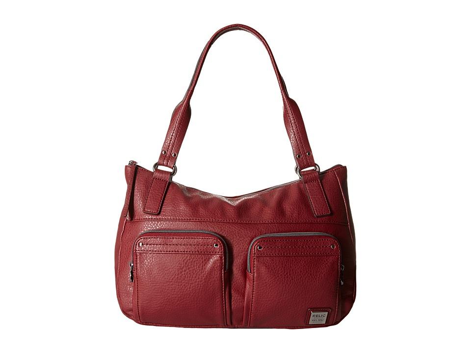 Relic - Bryce Double Shoulder (Baked Apple) Shoulder Handbags