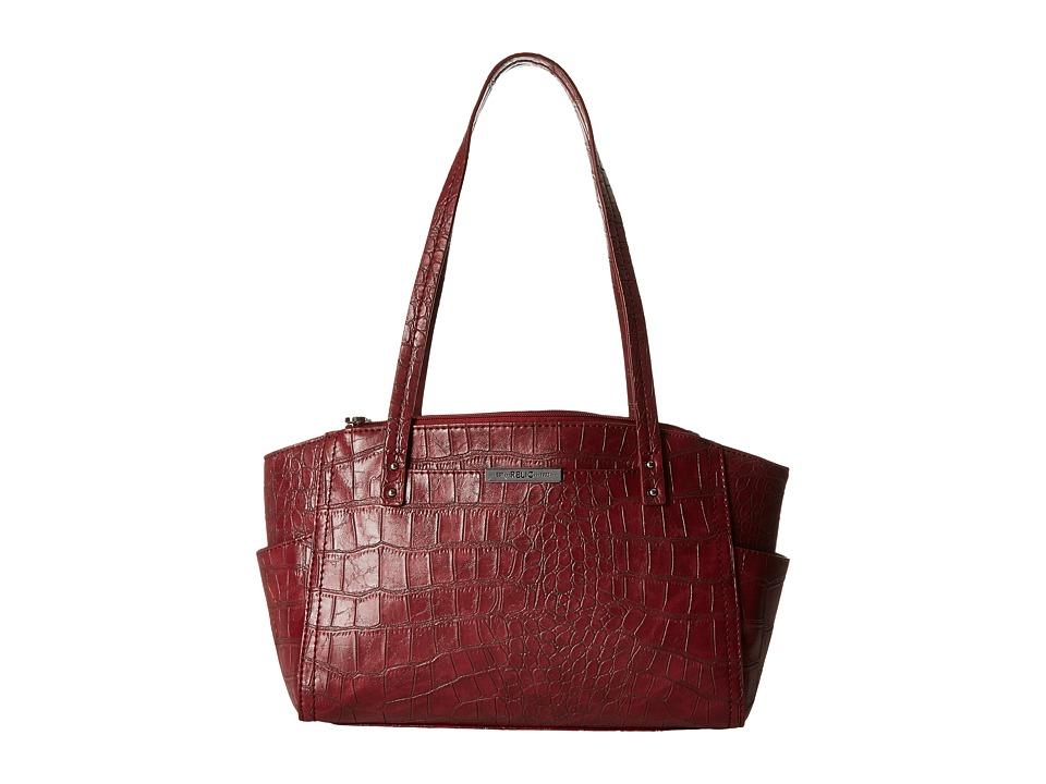 Relic - Caraway Double Shoulder (Red Croco) Shoulder Handbags