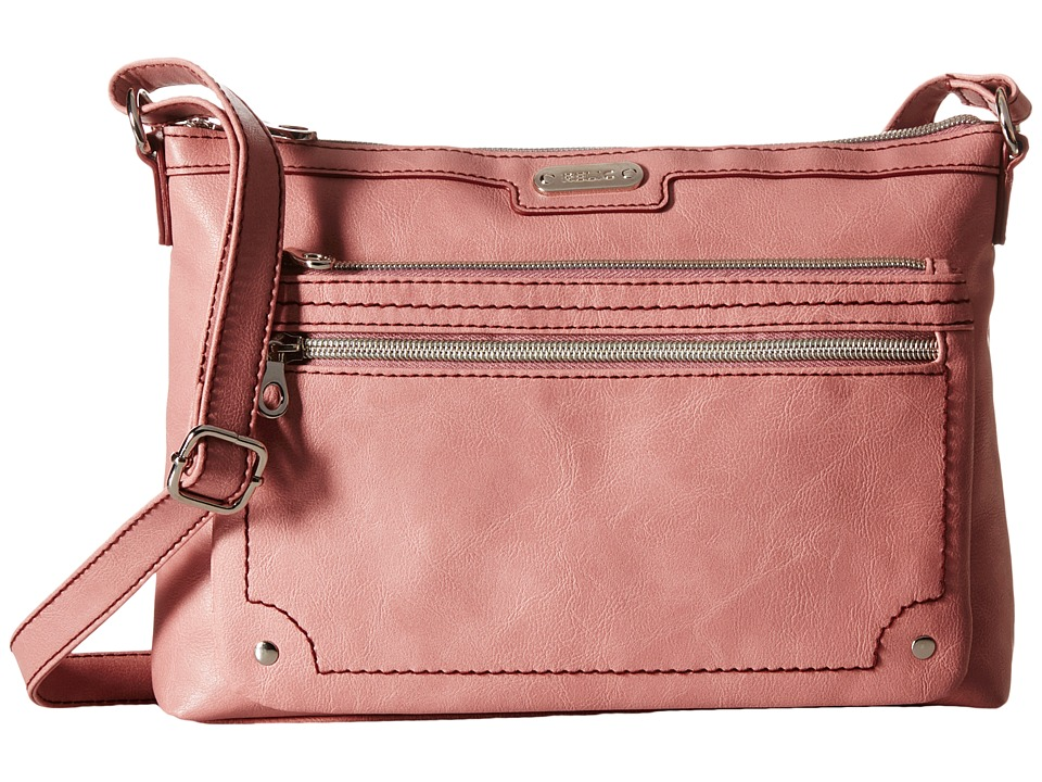 Relic - Evie East West Crossbody (Rose Dust) Cross Body Handbags