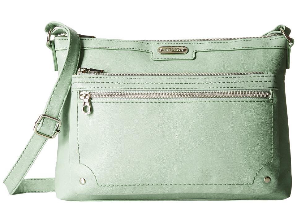 Relic - Evie East West Crossbody (Wintergreen) Cross Body Handbags