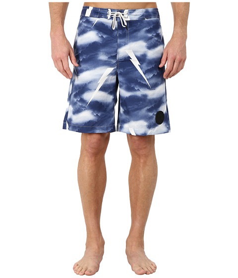G-Star - Distressed Swim Shorts (Imperial Blue) Men's Swimwear