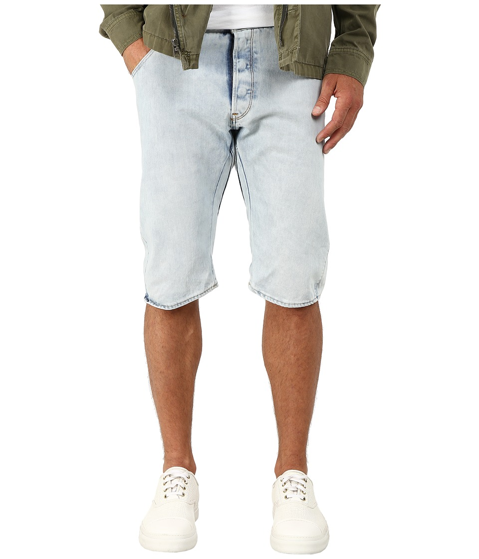 G-Star - Arc 3D Wisk Denim Shorts in Light Aged (Light Aged) Men's Shorts