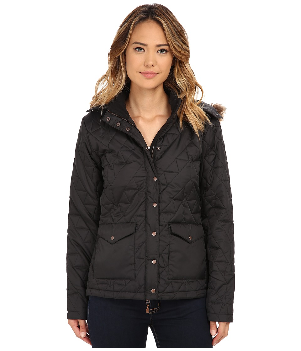 Cruel - Matte Finish Quilted Shell (Black) Women
