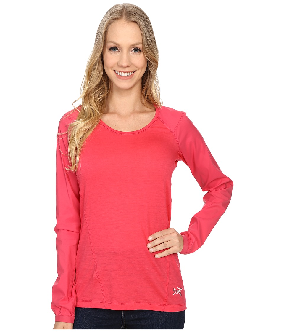 Arc'teryx - Lana Comp Long Sleeve (Pereskia) Women's Clothing