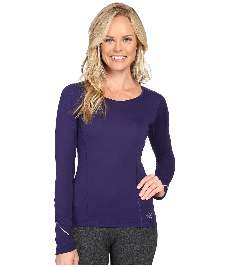 Arc'teryx - Motus Crew Long Sleeve (Astral Aura) Women's Clothing