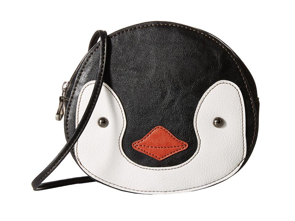 Relic - Caraway Novelty Mini Crossbody (Black/White) Cross Body Handbags