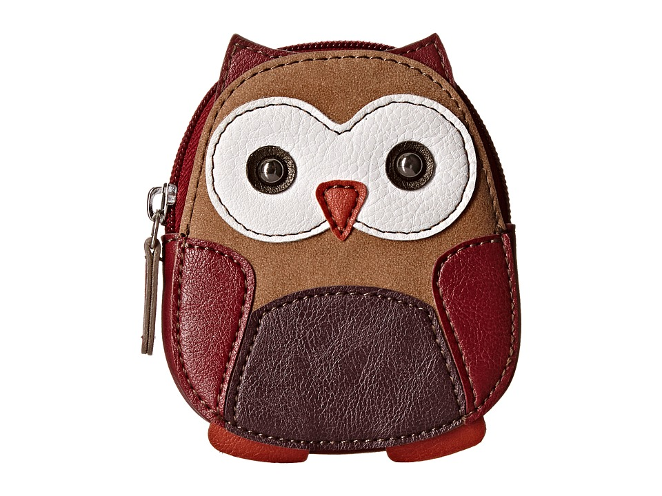 Relic - Caraway Novelty Zip Coin (Brown Multi) Coin Purse