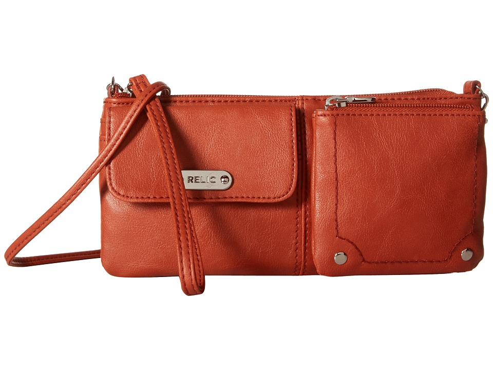 Relic - Evie East West Wristlet (Cinnamon) Wristlet Handbags