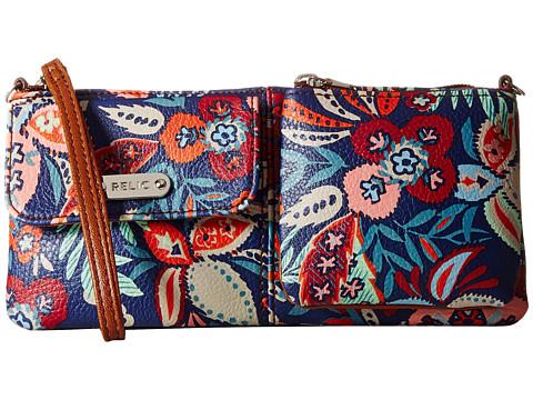 Relic - Evie East West Wristlet (Floral) Wristlet Handbags