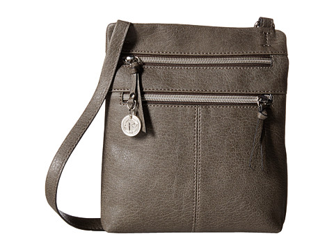 Relic - Finley North South Mini (Grey) Cross Body Handbags