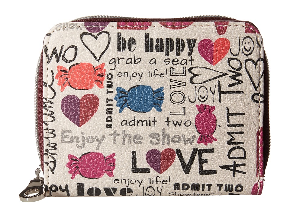 Relic - Takeaway Zip Multifunction (Doodles) Handbags