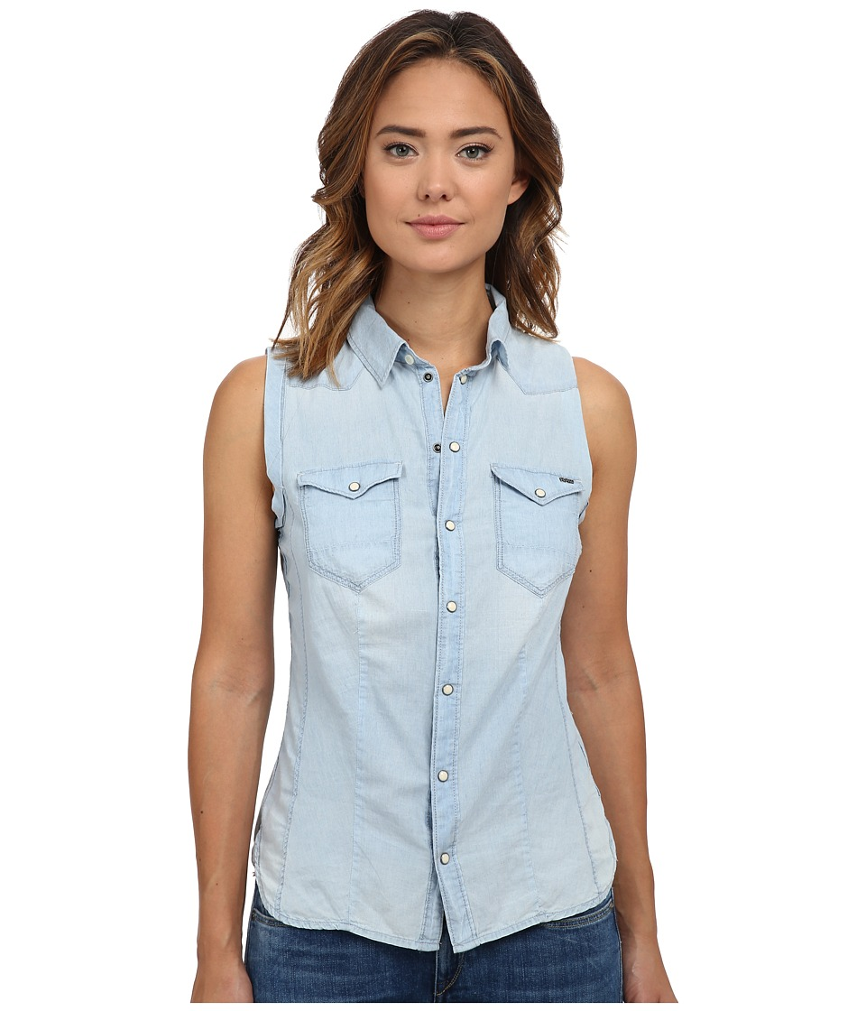 G-Star - Tacoma Sleeveless Shirt (Light Aged) Women's Clothing