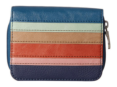 Relic - Takeaway Multifunction (Blue Multi Stripe) Handbags